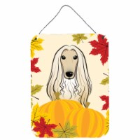 Afghan Hound Thanksgiving Wall or Door Hanging Prints