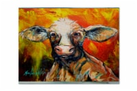 Carolines Treasures  MW1225PLMT Another Happy Cow Fabric Placemat