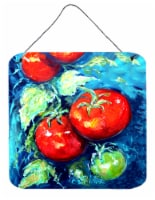 Vegetables - Tomatoes on the vine Wall or Door Hanging Prints