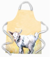 Carolines Treasures  MW1244APRON Bill the Kid Goat Apron