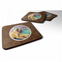 Carolines Treasures 7233FC Great Dane & Puppy Foam Coaster, 3.5 x 0.25 x 3.5 in. - Set of 4 - 4