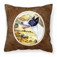 Carolines Treasures  7018PW1414 Canaan Dog Fabric Decorative Pillow