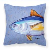 Carolines Treasures  8535PW1414 Tuna Fish Fabric Decorative Pillow