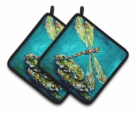 Carolines Treasures  MW1144PTHD Insect - Dragonfly Matin Pair of Pot Holders