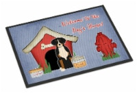 Dog House Collection Greater Swiss Mountain Dog Indoor or Outdoor Mat 24x36