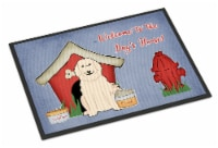Dog House Collection Great Pyrenese Indoor or Outdoor Mat 24x36