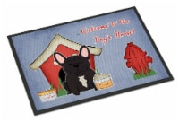 Dog House Collection French Bulldog Brindle Indoor or Outdoor Mat 18x27 - 18Hx27W