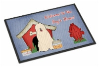 Dog House Collection South Russian Sheepdog Indoor or Outdoor Mat 18x27