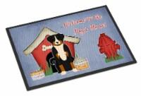 Dog House Collection Appenzeller Sennenhund Indoor or Outdoor Mat 18x27