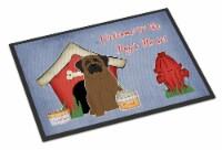 Dog House Collection Bullmastiff Indoor or Outdoor Mat 18x27 - 18Hx27W