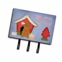 Carolines Treasures BB2849TH68 Dog House Collection Cocker Spaniel Red Leash or Key Holder