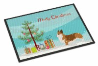 Corgi Merry Christmas Tree Indoor or Outdoor Mat 24x36
