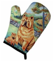 Carolines Treasures  7057OVMT Chow Chow Momma's Love Oven Mitt - Large