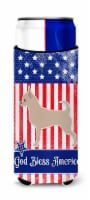 USA Patriotic Chihuahua Michelob Ultra Hugger for slim cans - Slim Can