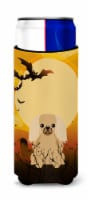 Halloween Pekingnese Fawn Sable Michelob Ultra Hugger for slim cans - Slim Can
