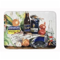 """Barq's, Crabs, and spices Machine Washable Memory Foam Mat - 19 X 27"""""""