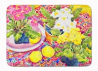 "Carolines Treasures  6062RUG Flower - Primroses Machine Washable Memory Foam Mat - 19 X 27"""