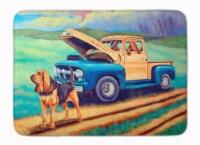 Carolines Treasures  7513RUG Bloodhound Machine Washable Memory Foam Mat