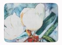 "Carolines Treasures  8001RUG Flower - Magnolia Machine Washable Memory Foam Mat - 19 X 27"""