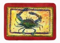 "Carolines Treasures  8058-RUG Crab Machine Washable Memory Foam Mat - 19 X 27"""
