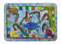 Carolines Treasures  8066-RUG Crab Machine Washable Memory Foam Mat