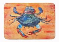 "Carolines Treasures  8096-RUG Crab Machine Washable Memory Foam Mat - 19 X 27"""