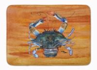 "Carolines Treasures  8144-RUG Crab Machine Washable Memory Foam Mat - 19 X 27"""