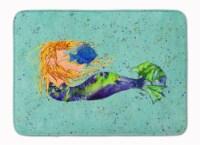 "Carolines Treasures  8336-RUG Mermaid Machine Washable Memory Foam Mat - 19 X 27"""