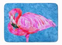 Carolines Treasures  8686RUG Flamingo Machine Washable Memory Foam Mat