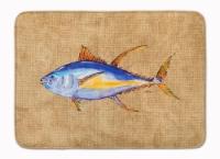 Carolines Treasures  8817RUG Tuna Fish Machine Washable Memory Foam Mat