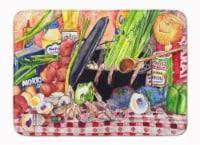 """Gumbo and Potato Salad Machine Washable Memory Foam Mat - 19 X 27"""""""