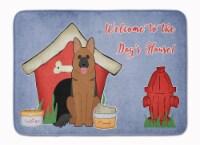 Dog House Collection German Shepherd Machine Washable Memory Foam Mat
