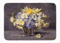 "Spring Bouquet by John Codner Machine Washable Memory Foam Mat - 19 X 27"""