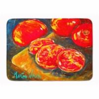 "Vegetables - Tomatoes Slice It Up Machine Washable Memory Foam Mat - 19 X 27"""