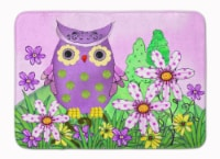 Who is Your Friend Owl Machine Washable Memory Foam Mat