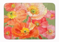 Poppies by Anne Searle Machine Washable Memory Foam Mat