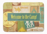 """Welcome to the Camp Machine Washable Memory Foam Mat - 19 X 27"""""""
