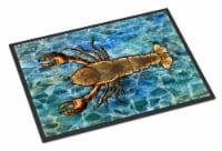 Carolines Treasures  BB5351MAT Lobster Indoor or Outdoor Mat 18x27