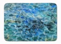 Shrimp Under water Machine Washable Memory Foam Mat