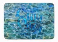 Summer Under Water Machine Washable Memory Foam Mat