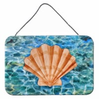 Scallop Shell and Water Wall or Door Hanging Prints