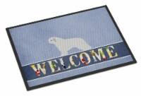 Spanish Water Dog Welcome Indoor or Outdoor Mat 18x27 - 18Hx27W
