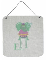 Alphabet E for Elephant Wall or Door Hanging Prints
