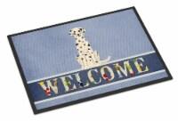 Carolines Treasures  BB5678MAT Dalmatian Welcome Indoor or Outdoor Mat 18x27