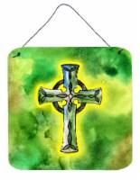 Carolines Treasures  BB5764DS66 Irish Celtic Cross Wall or Door Hanging Prints