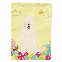 Easter Eggs South Russian Sheepdog Flag Canvas House Size