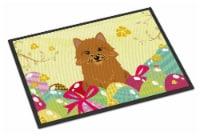 Easter Eggs Norwich Terrier Indoor or Outdoor Mat 18x27 - 18Hx27W