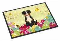 Easter Eggs Entlebucher Indoor or Outdoor Mat 18x27 - 18Hx27W