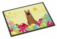 Easter Eggs German Shepherd Indoor or Outdoor Mat 18x27 - 18Hx27W