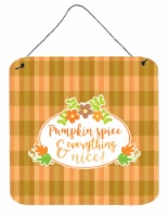 Fall Pumpkin Spice and Everything Wall or Door Hanging Prints - 6HX6W
